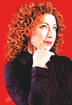 Alex Kingston. by rivertem