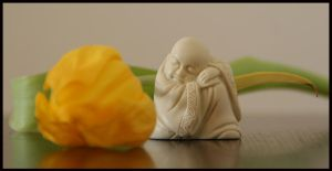 Little Buddha No. 7 by Nyn-the-Cat