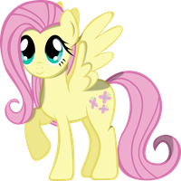 Fluttershy practice by TheShadowStone