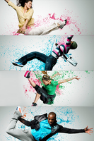 Colorful splash' by rocksart