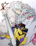 Sesshomaru by Outering