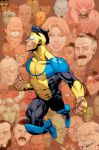 INVINCIBLE 100 cover variant by RyanOttley