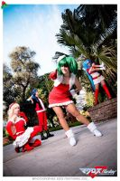 Have a merry macross frontier xmas! by AnaSBertola