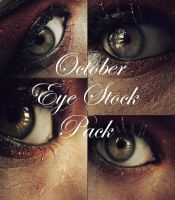 October Eye Stock Pack by Kizuna-chan
