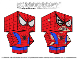 Cubeecraft - Spider-Man by CyberDrone