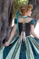 Anna Coronation Wig and Cosplay by glimmerwood