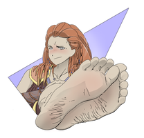 Take a Look at Aloys Feet by PawFeather