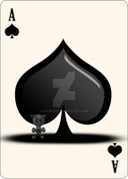 Fella Cards - Ace of Spades by the-pearl-piper