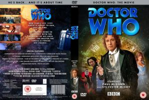 DOCTOR WHO TV MOVIE DVD COVER by MrPacinoHead