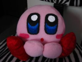 Kirby plushie by Keykee88