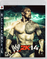 WWE 2K14 Cover ~ My Design by MhMd-Batista