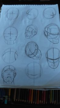 Some Andrew Loomis Study by rkader11