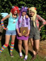 Cosplay as My little pony characters by likebeth