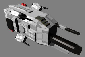 Primary Hull of Corvette2 by tchalla811