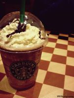 Frappuccino caramel, please. by BScarlett