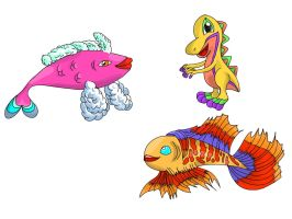 Fish are everywhere by Sulfura