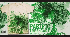 Pacific Tree Care Shirt Concept 1 by GrahamPhisherDotCom