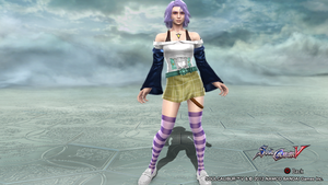 Mizore Shirayuki Soul Calibur 5 by toms2435