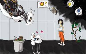 Portal 2. Spoilers. by TheDeviantartAnalyst