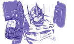 Shattered Prime warmup sketch by EryckWebbGraphics