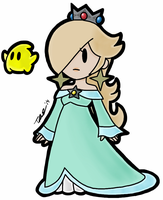 Paper Rosalina by Travis-CJ