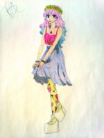Prncess Bubblegum Hipster by kawaii-cutie-pie