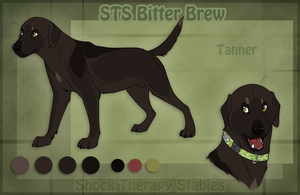 STS Dog - Tanner by ShockTherapyStables