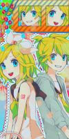 Rin and Len Edits by UchihaBlue11