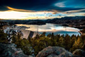 Gross Reservoir HDR by 5isalive