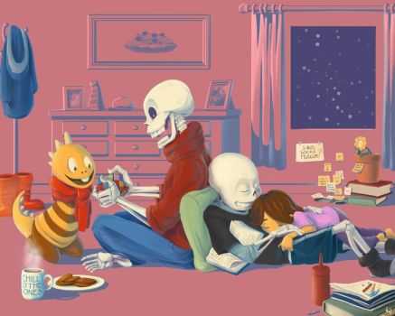 Undertale -  Good afternoon by oennarts