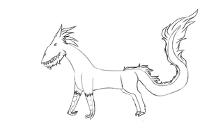 Horse beast by GLaDOS9000