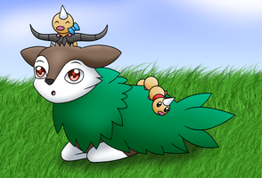 HPM: Danielle and the Weedles by Kimerasaurus