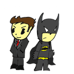 Bruce Wayne by day Batman by Knight by PizzaSpaghetti