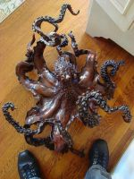 Octopus bronze by bronze4u