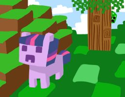 Week41: MineCraft with Twilight by Phillyphia