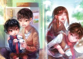BH6 RotG- Brothers by christon-clivef