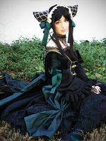Sieglinde Sullivan the Green Witch by PrettyPrincessDoll