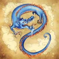 Orient dragon by PushinkaArt
