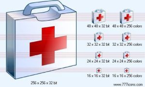 First-aid Icon by medical-icon-set