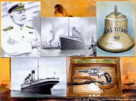 Titanic sketchcards by whu-wei