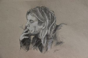 Kurt Cobain by m4tan