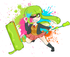 Splatoon! by MinnaJones