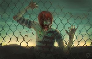 Zombie Matt 3 by Hyia-K