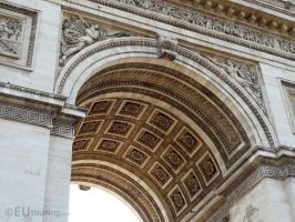 Arch and beneath the structure by EUtouring