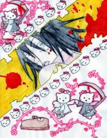 HELLO KITTY IS COMING by ICHIMARU-HISANA