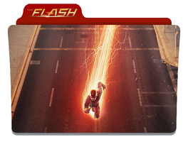 The Flash folder icon - 2014 TV series by timepink