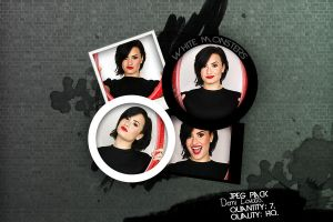 Demi Lovato| JPEG PACK #8 by Whitemonsters