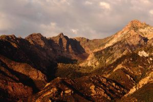 Wasatch Mountains by Voedin