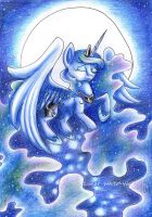 Moon Princess by Lunar-White-Wolf