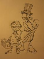 Scrooge McDuck by laughingloving